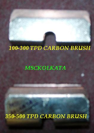 500 TPD. rotary kiln carbon brush