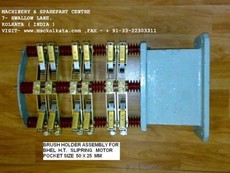 BHEL  Motor Carbon Brush Holder Complete Assembly