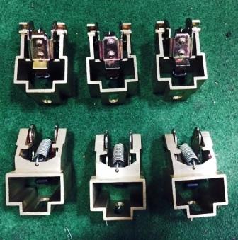 carbon brush holder for dc motor